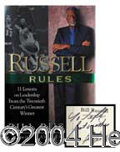 Autographs, Bill Russell Signed First Edition Book
