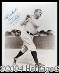 Autographs, Babe Ruth Beautiful Signed 8 x 10 Photograph