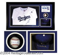 Autographs, Duke Snider Superb Signed Display Piece
