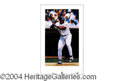"Autographs, Frank Thomas Signed ""Big Hurt"" Litho Print"