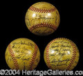 Autographs, 1948 New York Yankees Team Signed Baseball