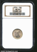 Barber Dimes: , 1914 10C MS66 NGC. ...