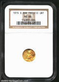 Commemorative Gold: , 1915-S $1 Panama-Pacific Gold Dollar MS66 NGC. The latest ...