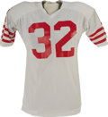 Football Collectibles:Uniforms, Circa 1978 O.J. Simpson Game Worn Jersey & Cleats. While the Hall of Fame running back is persona non grata throughout most ...