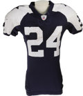 Football Collectibles:Uniforms, 2006 Marion Barber Game Worn Throwback Uniform. A lucky uniform for the young running back out of Minnesota, who found the ...