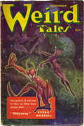 Pulps:Horror, Weird Tales Box Lot (Popular Fiction, 1940-51) Condition: AverageVG....