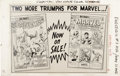 Original Comic Art:Miscellaneous, Daredevil #3 - Marvel House Ad Production Piece featuringSpider-Man Annual #1 and Marvel Tales #1 (Marvel, 1964)....