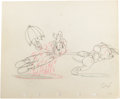 "Animation Art:Production Drawing, ""The Country Cousin"" Animation Production Drawing Original Art(Disney, 1936)...."
