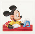 "animation art:Production Drawing, Rick Brown - ""Mickey Mouse"" Promotion Illustration Original Art(Disney, 1984)...."