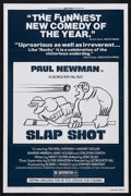 "Movie Posters:Sports, Slap Shot (Universal, 1977). One Sheet (27"" X 41"") Style B. Sports Comedy. Starring Paul Newman, Strother Martin, Michael On..."