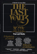 "Movie Posters:Rock and Roll, The Last Waltz (United Artists, 1978). One Sheet (27"" X 41""). RockMusic Documentary. Starring The Band, Eric Clapton, Neil ..."