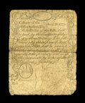 Colonial Notes:Massachusetts, Massachusetts August 18, 1775 2s Fine. The details of this notematch those of Newman's plate note exactly, allowing us to c...