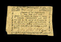 Colonial Notes:Massachusetts, Massachusetts June 18, 1776 3s/6d Very Fine-Extremely Fine. Thisappealing and original example boasts all of its original d...