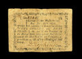 Colonial Notes:Massachusetts, Massachusetts June 18, 1776 1s/8d Fine-Very Fine. The center foldis a touch weak, though the note faces up well. The signat...