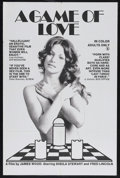 """Movie Posters:Adult, A Game of Love (Virgo 3 Films, 1974). One Sheet (27"""" X 41""""). Adult. Starring Sheila Stewart and Fred Lincoln. Directed by Ja..."""