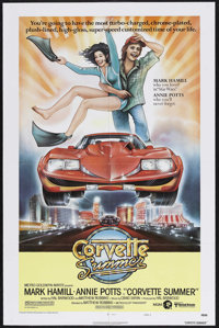 "Corvette Summer (MGM, 1978). One Sheet (27"" X 41"") Style A. Comedy. Starring Mark Hamill, Annie Potts, Eugene..."