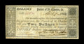 Obsoletes By State:Louisiana, St. Charles Parish, LA- Parish of St. Charles $2 April 7, 1862. An attractive note from this very scarce Parish, with this p...