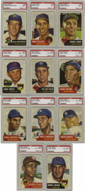 Baseball Cards:Sets, 1953 Topps Baseball Complete Set (274). The beautifully designedTopps set, originally intended to consist of 280 cards, is ...