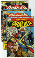Bronze Age (1970-1979):Horror, Tomb of Dracula #9, 19, and 24 Group (Marvel, 1973-74) Condition:Average NM.... (Total: 3)