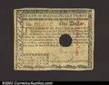 Colonial Notes:Massachusetts, May 5, 1780, $1, Massachusetts, MA-278, VF. An attractive ...