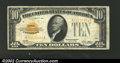 Small Size:Gold Certificates, 1928 $10 Gold Certificate, Fr-2400, Fine-VF....