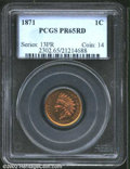 """Proof Indian Cents: , 1871 1C PR 65 Red PCGS. The latest Coin World """"Trends"""" price ..."""