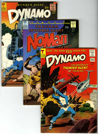 Dynamo and NoMan Group (Tower, 1966-67) Condition: Average FN.... (Total: 6 Comic Books)