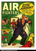 Golden Age (1938-1955):War, Air Fighters Comics Lot of 5 (Hillman Fall, 1943). Five cool issues average VG- (except Vol. 2 #8 is GD.). Vol. 1 #7, Vol. 2... (Total: 5 Comic Books Item)
