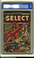 Golden Age (1938-1955):Superhero, All Select Comics #8 (Timely, 1945) CGC FN+ 6.5 Cream to off-white pages. Alex Schomburg cover. Overstreet 2002 FN 6.0 value...