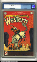 Golden Age (1938-1955):Western, All-American Western #117 Mile High pedigree (DC, 1951) CGC NM 9.4White pages. Alex Toth art. Overstreet 2002 NM 9.4 value ...