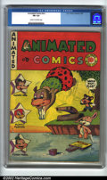 Golden Age (1938-1955):Cartoon Character, Animated Comics #nn (EC, 1947). CGC FN 6.0 Cream to off-white pages. Rare. Overstreet 2002 FN 6.0 value = $210....