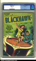 Golden Age (1938-1955):War, Blackhawk #21 Rockford pedigree (DC, 1948) CGC FN/VF 7.0 Off-whitepages. Classic Bill Ward artwork. Overstreet 2002 FN 6.0 ...