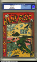 Golden Age (1938-1955):Science Fiction, Blue Bolt v2 #9 Rockford pedigree (Novelty Press, 1942) CGC VF/NM9.0 Cream to off-white pages. The original Rockford certif...