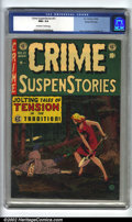 Golden Age (1938-1955):Crime, Crime SuspenStories #21 Gaines File pedigree 3/12 (EC, 1954). CGC NM+ 9.6 Off-white to white pages. Overstreet 2002 NM 9.4 v...