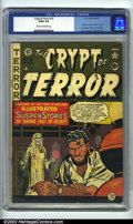 Golden Age (1938-1955):Horror, Crypt of Terror #19 (EC, 1950). CGC GD/VG 3.0 Cream to off-whitepages. Last issue under this title, becomes Tales from th...
