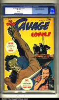 Golden Age (1938-1955):Superhero, Doc Savage Comics v2 #4 Mile High pedigree (Street & Smith, 1943) CGC VF- 7.5 White pages. Overstreet 2002 VF 8.0 value = $3...