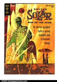 Doctor Solar #1 (Gold Key, 1962). Fantastic first issue in VF-. Overstreet 2002 value = $110