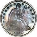 Proof Seated Half Dollars, 1849 50C PR65 NGC....