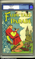 Golden Age (1938-1955):Humor, Fairy Tale Parade #1 (Dell, 1942) CGC VG/FN 5.0 Off-white pages. Walt Kelly artwork. Overstreet 2002 GD 2.0 value = $123; FN...