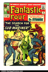 Fantastic Four Silver Age Lot (Marvel, 1963-4). #16 VG+ and #27 FN. Overstreet 2002 value for group = $120