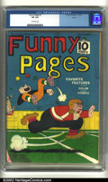 Golden Age (1938-1955):Miscellaneous, Funny Pages #7 Larson pedigree (Comics Magazine, 1936) CGC VG 4.0 Off-white pages. Overstreet 2002 GD 2.0 value = $86; FN 6....