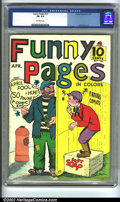 Golden Age (1938-1955):Miscellaneous, Funny Pages #10 (Comics Magazine, 1937). CGC FN 6.0 Off-white pages. Will Eisner artwork. Overstreet 2002 FN 6.0 value = $25...