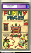 Golden Age (1938-1955):Humor, Funny Pages v2 #4 (Comics Magazine, 1937) CGC Apparent VG+ 4.5 Slight (A) Off-white pages. Overstreet 2002 GD 2.0 value = $5...