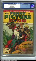 Golden Age (1938-1955):Miscellaneous, Funny Picture Stories v3 #3 (Centaur, 1939) CGC VG+ 4.5 Cream to off-white pages. Last issue. Overstreet 2002 GD 2.0 value =...