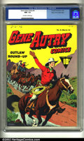 Golden Age (1938-1955):Western, Gene Autry Comics #6 Mile High pedigree (Fawcett, 1943) CGC NM+ 9.6Off-white to white pages. Overstreet 2002 NM 9.4 value =...