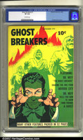 Golden Age (1938-1955):Horror, Ghost Breakers #1 (Street & Smith, 1948) CGC VF 8.0 Off-whitepages. Powell cover and art. Overstreet 2002 VF 8.0 value = $2...