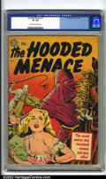 Golden Age (1938-1955):Horror, Hooded Menace #1 (Realistic Comics, 1951) CGC VF 8.0 Off-white towhite pages. This rare book does not show up on CGC's cens...