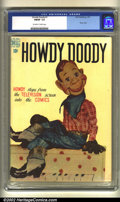 Golden Age (1938-1955):Horror, Howdy Doody #1 (Dell, 1950) CGC FN/VF 7.0 Off-white to white pages.This book is listed by Overstreet as scarce and the firs...
