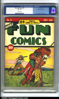 Golden Age (1938-1955):Miscellaneous, More Fun Comics #47 Cosmic Aeroplane pedigree (DC, 1939) CGC VF- 7.5 Off-white pages. Overstreet 2002 VF 8.0 value = $1,166....