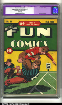 More Fun Comics #50 (DC, 1939) CGC Apparent VF/NM 9.0 Slight (P) Off-white pages. Only restoration is that the cover has...